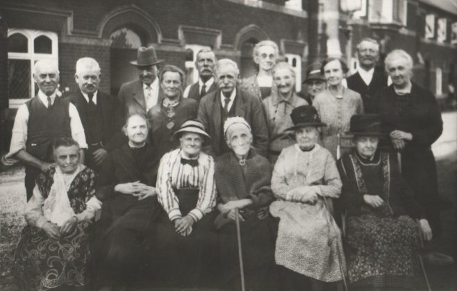 Residents at the Barton Almshouse