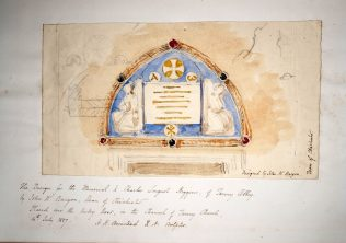 The Design for the Memorial to Charles Longuet-Higgins