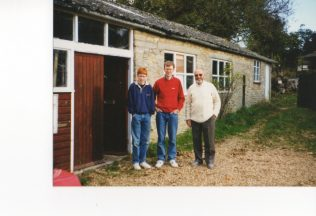Len Savage with his Son and Grandson