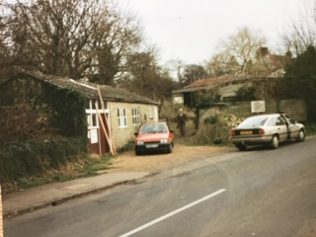 Len Savage's Workshop in Newton Lane