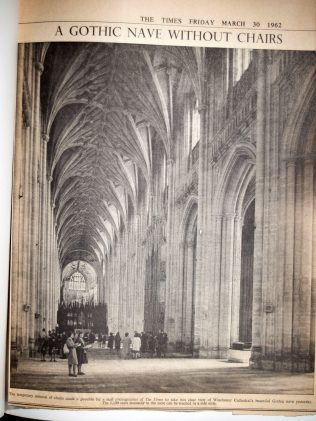 A Gothic Nave Without Chairs