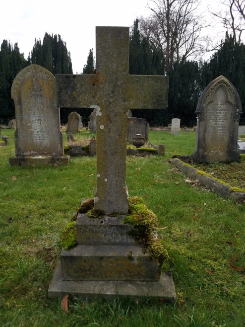 Cross at grave of Percy Alfred Mardlin | Dave Thacker