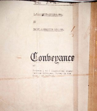 Conveyance between Hugh Christopher Longuet Higgins and Caret Properties