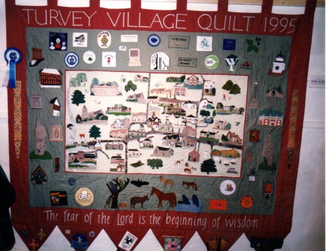 Turvey Village Quilt 1995 | Ann Boyle