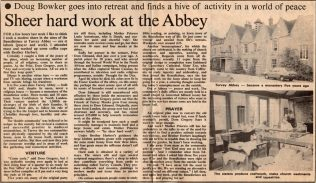 Sheer Hard Work at the Abbey