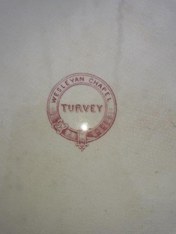 Centre Stamp from Chapel Plates