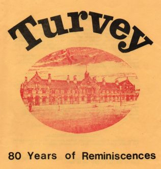 Turvey: 80 Years of Reminiscences